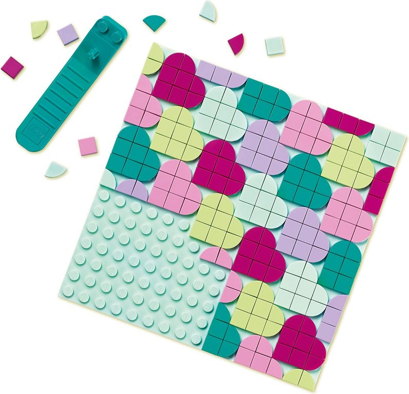 LEGO® DOTS Jewelry Box components