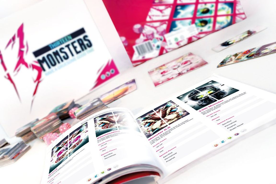 13 Monsters components