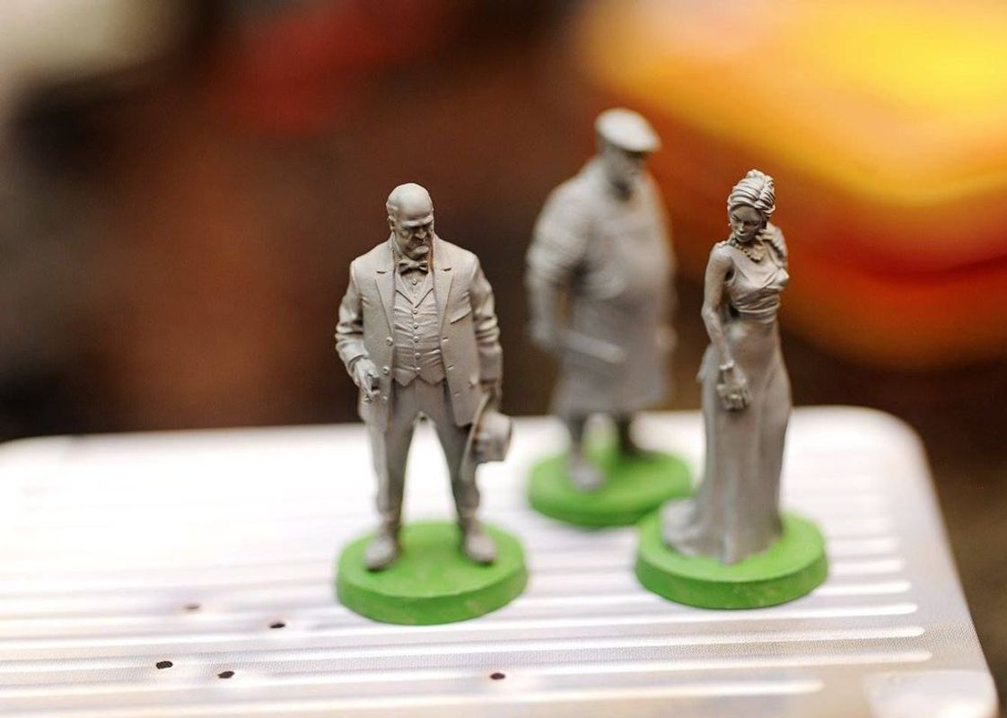 The Godfather: Corleone's Empire miniatures
