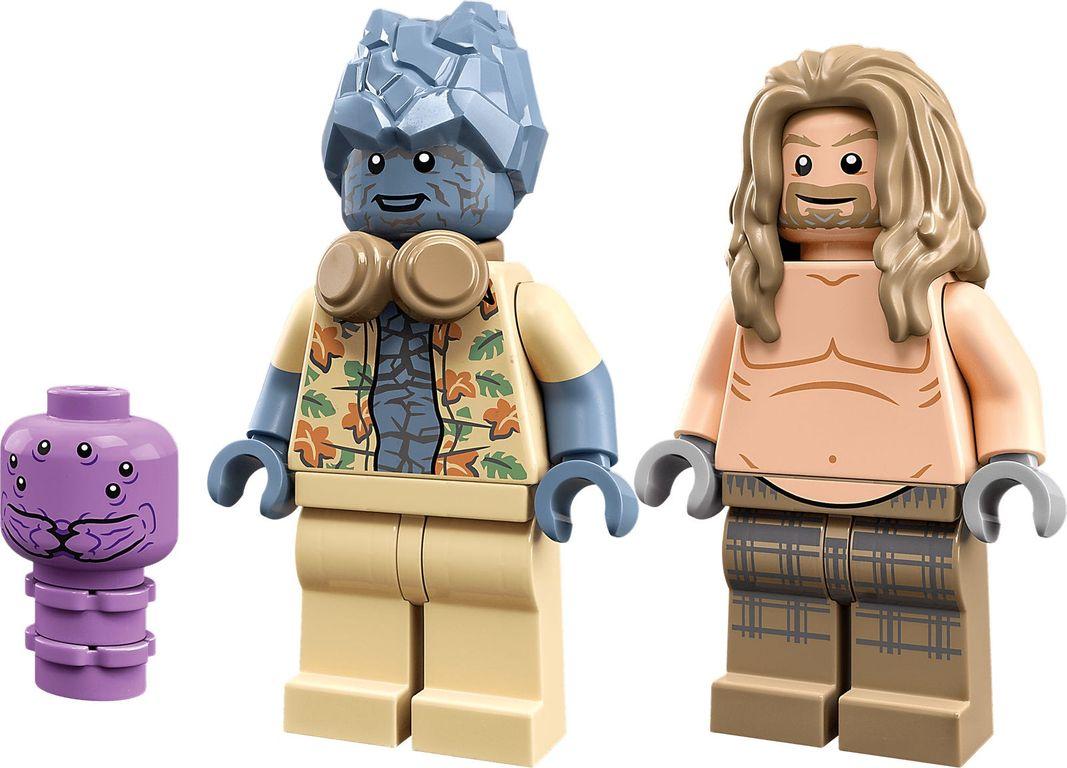 LEGO® Marvel Bro Thor's New Asgard minifigures