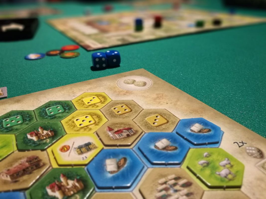 The Castles of Burgundy gameplay