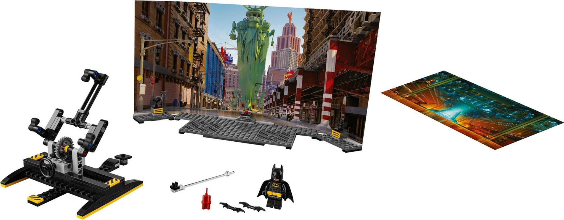 Batman™ Movie Maker Set components