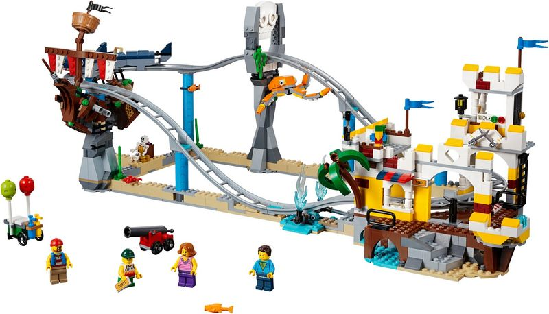 LEGO® Creator Pirate Roller Coaster components