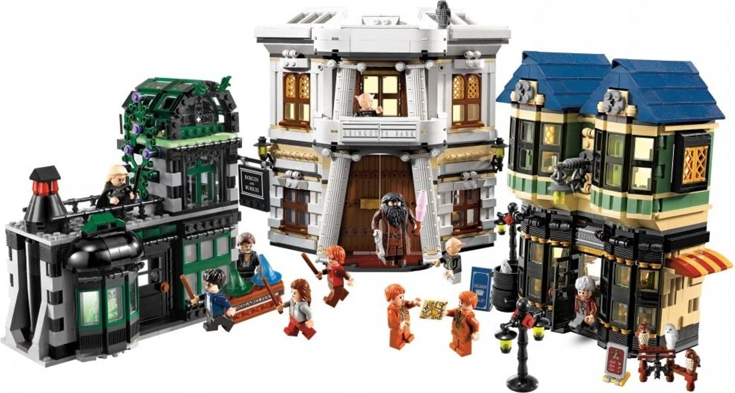 LEGO® Harry Potter™ Diagon Alley gameplay