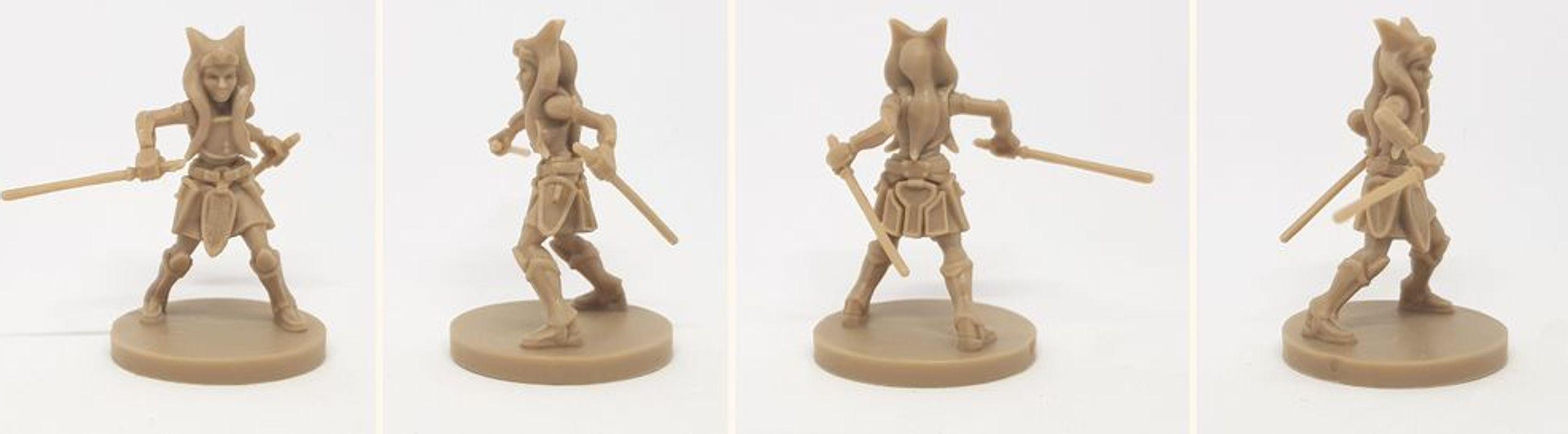 Star Wars: Imperial Assault - Ahsoka Tano Ally Pack miniatures