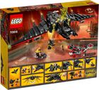 The Batwing back of the box