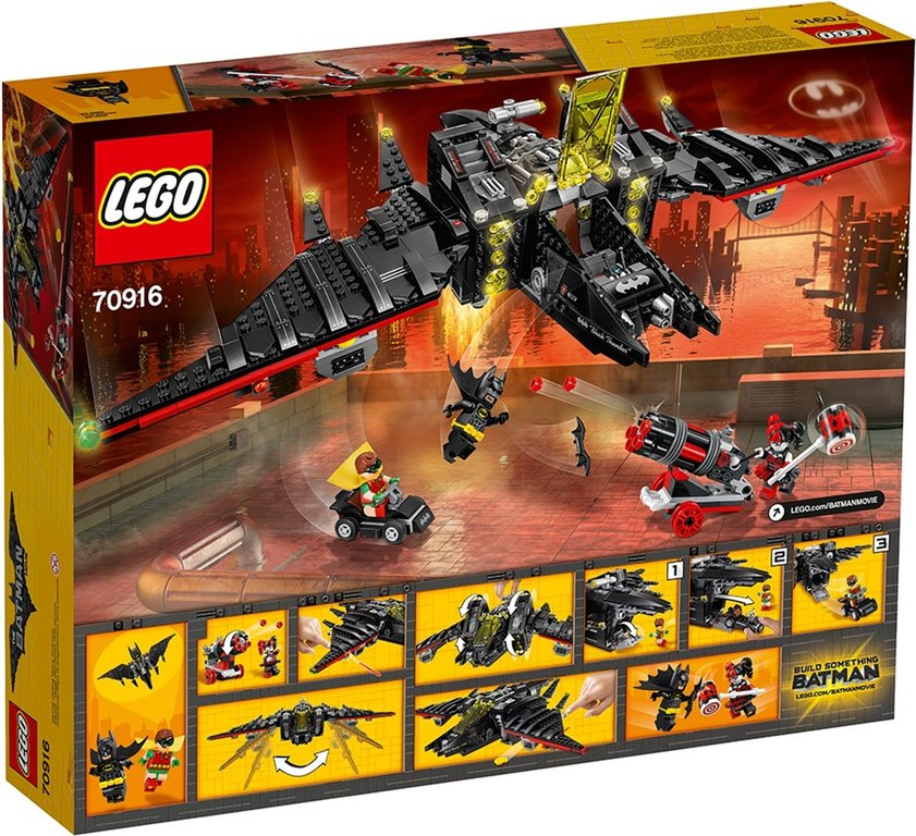 LEGO® Batman Movie The Batwing back of the box