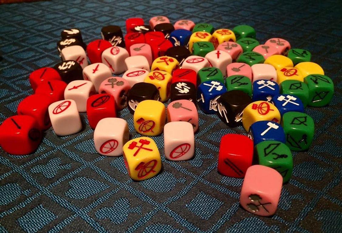 Champions of Midgard: The Dark Mountains dice