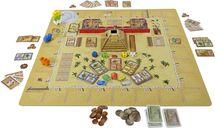 Camel Up playmat: Grandprix of the Sahara gameplay