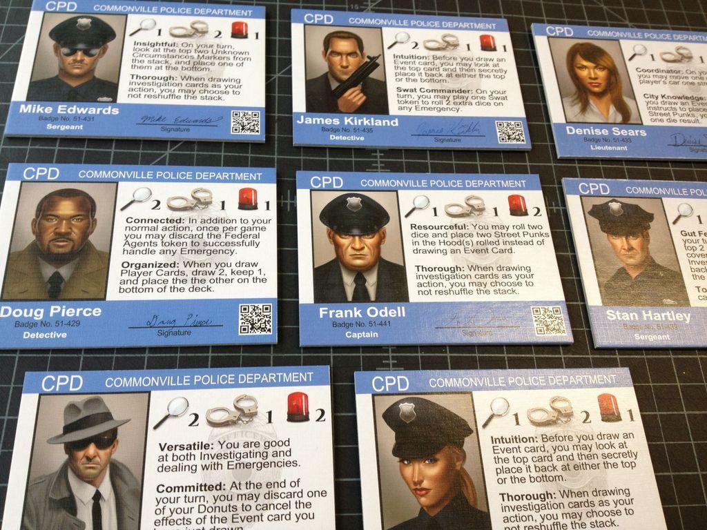 Police Precinct cards