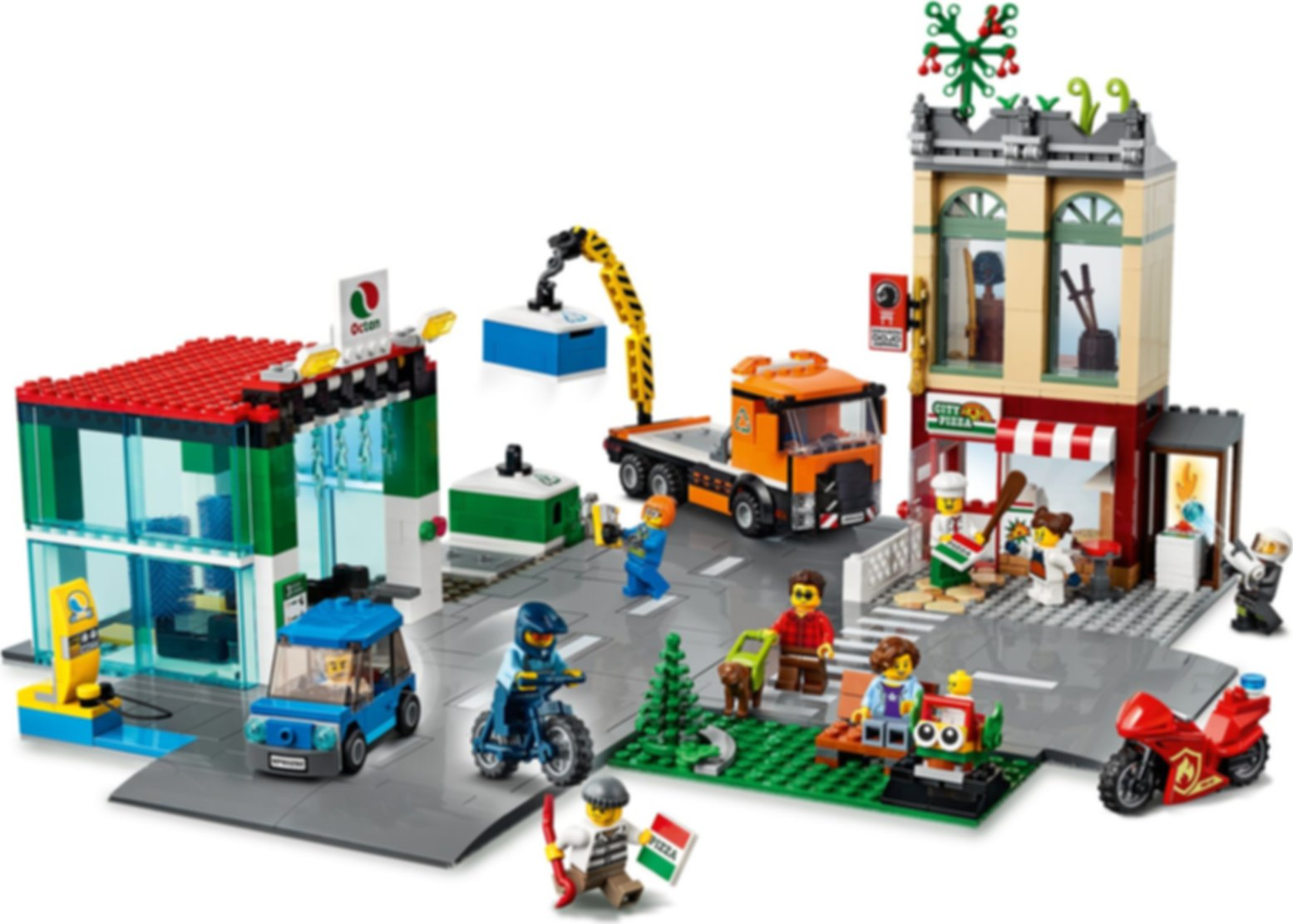 LEGO® City Town Center gameplay