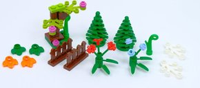 LEGO® Xtra Botanical Accessories components