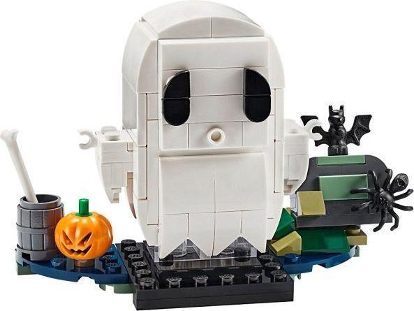 LEGO® BrickHeadz™ Halloween Ghost components