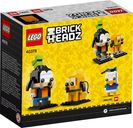 LEGO® BrickHeadz™ Goofy & Pluto back of the box