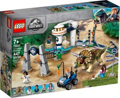 LEGO® Jurassic World Triceratops Rampage