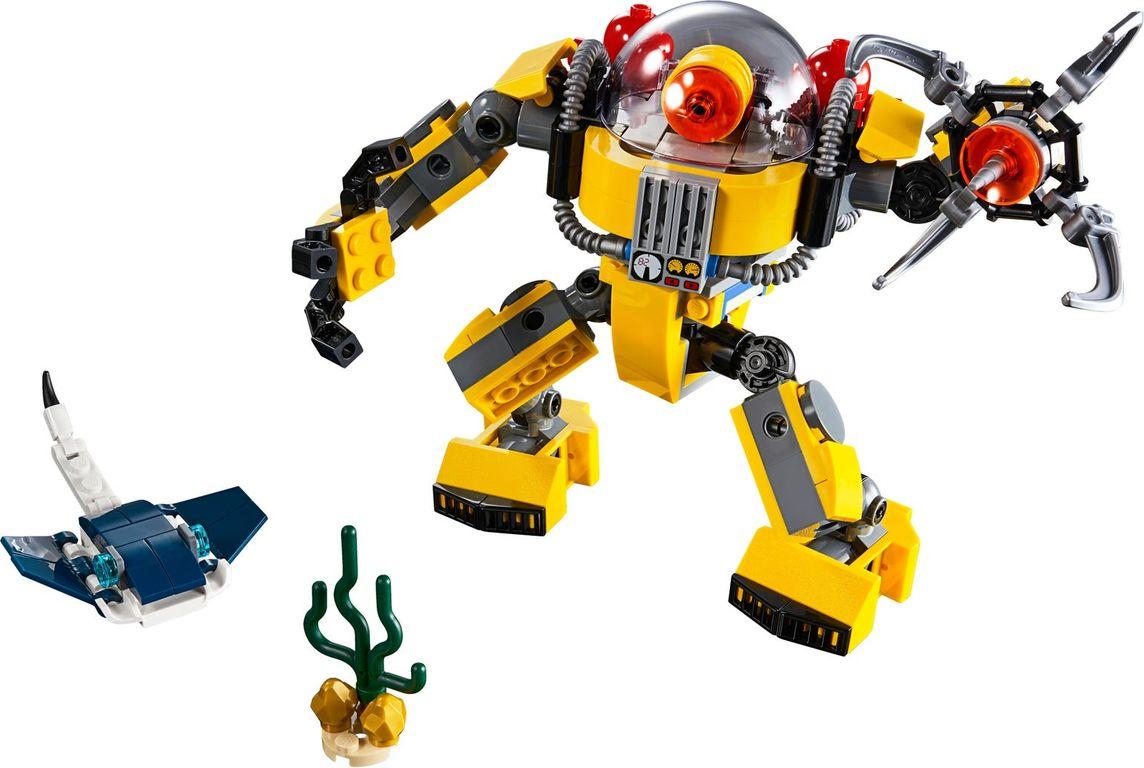 LEGO® Creator Underwater Robot components