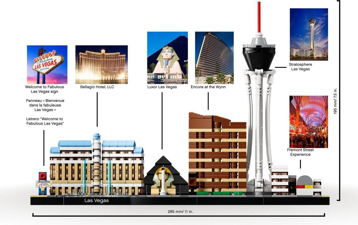 LEGO® Architecture Las Vegas building
