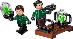 LEGO® DC Superheroes Kryptonite Interception minifigures