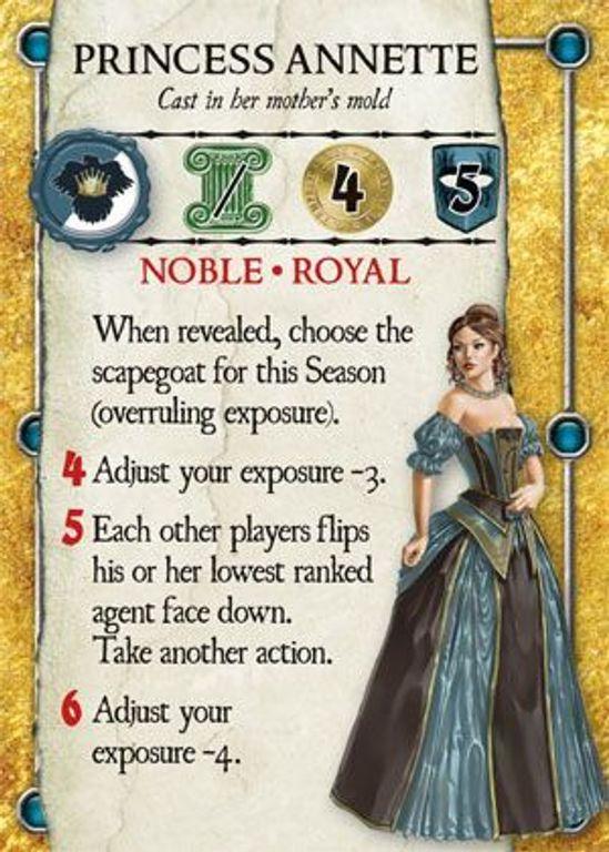 Dominare Princess Annette card