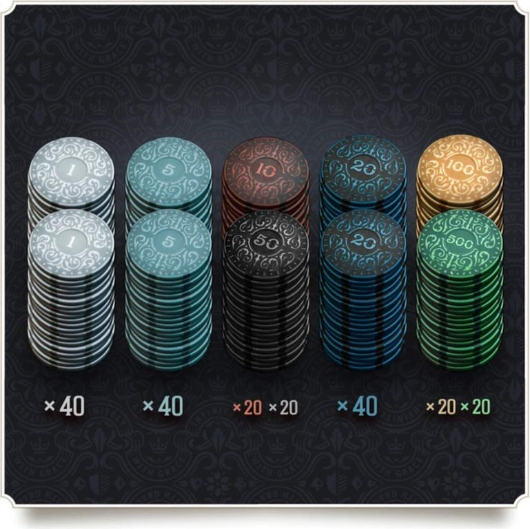 Brass: Iron Clays (Luxury Edition) coins
