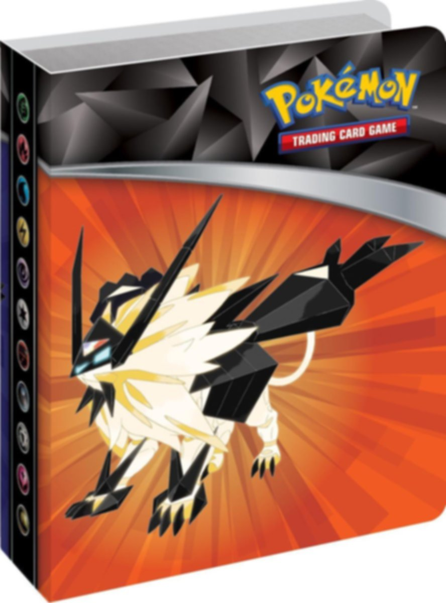 Pokémon TCG: Sun & Moon-Ultra Prism Mini Portfolio & Booster Pack components