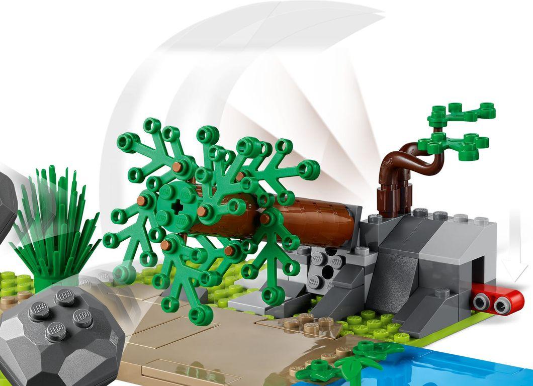 LEGO® City Wildlife Rescue Operation components