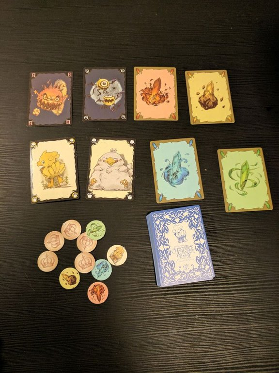Chocobo's Crystal Hunt components