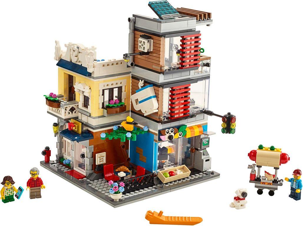 Townhouse Pet Shop and Café components