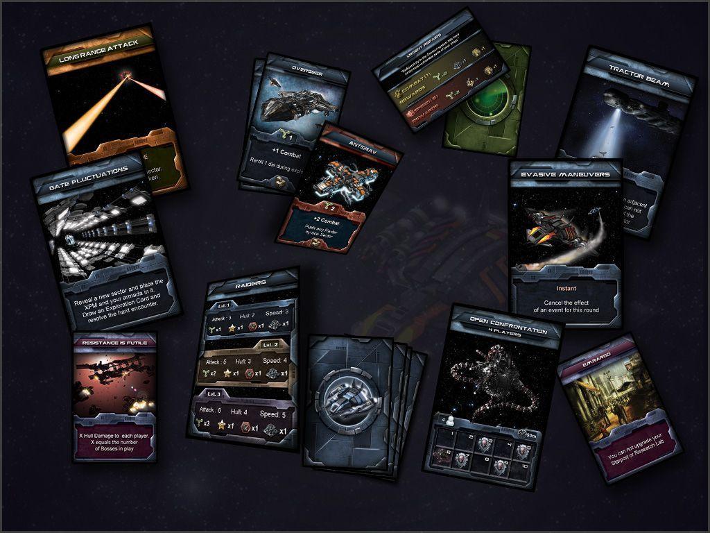 Centauri Saga cards