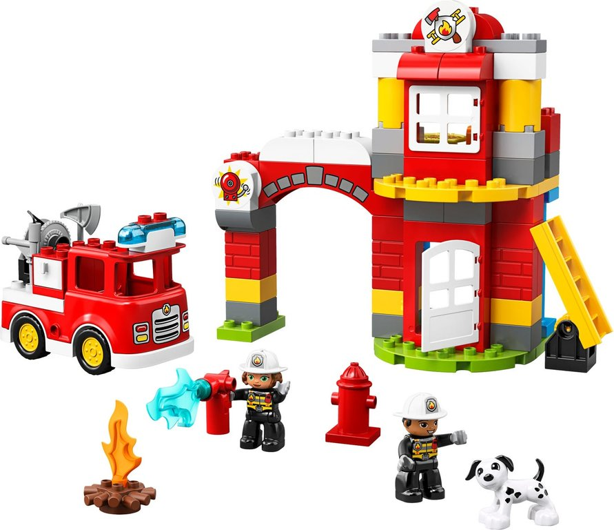 LEGO® DUPLO® Fire Station components