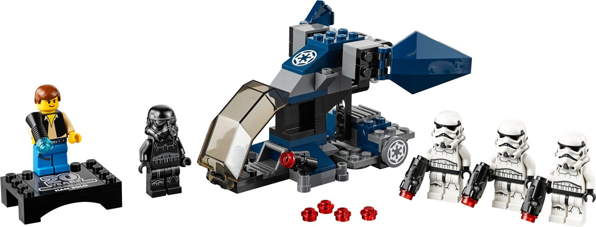 LEGO® Star Wars Imperial Dropship™ – 20th Anniversary Edition components