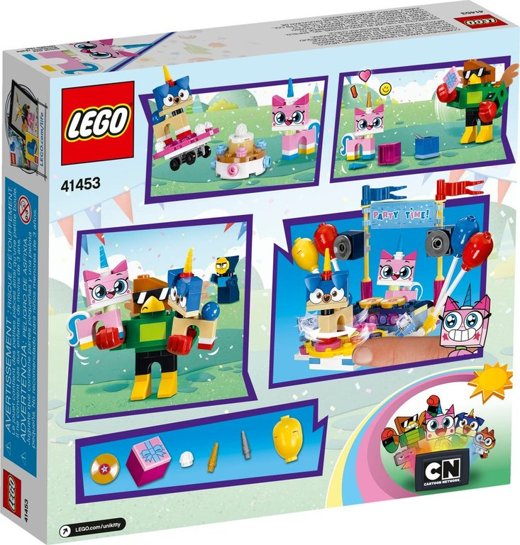 LEGO® Unikitty! Party Time back of the box