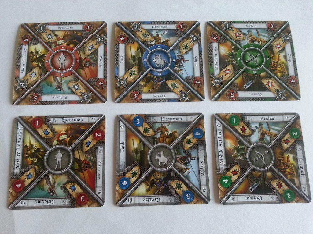 Sid Meier's Civilization: The Board Game - Wisdom and Warfare cards