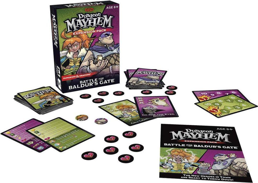 Dungeon Mayhem: Battle for Baldur's Gate components