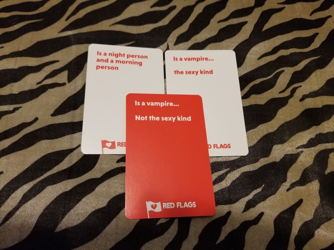 Red Flags cards