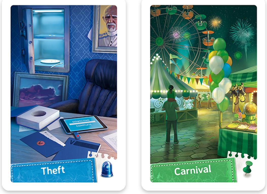 Spy Club cards