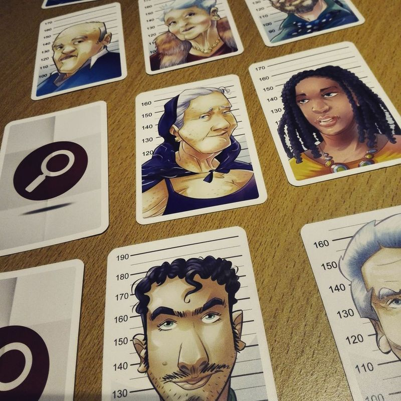Unusual Suspects cards