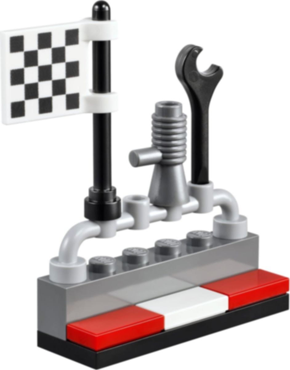 Race Car Rally components