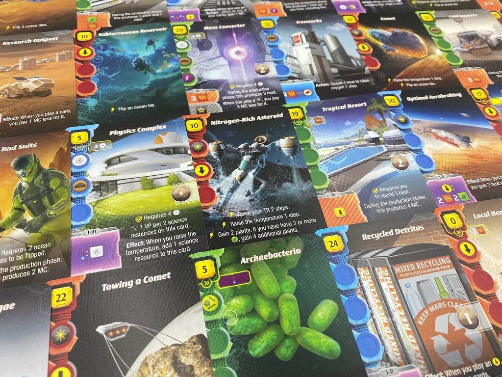 Terraforming Mars: Ares Expedition cards