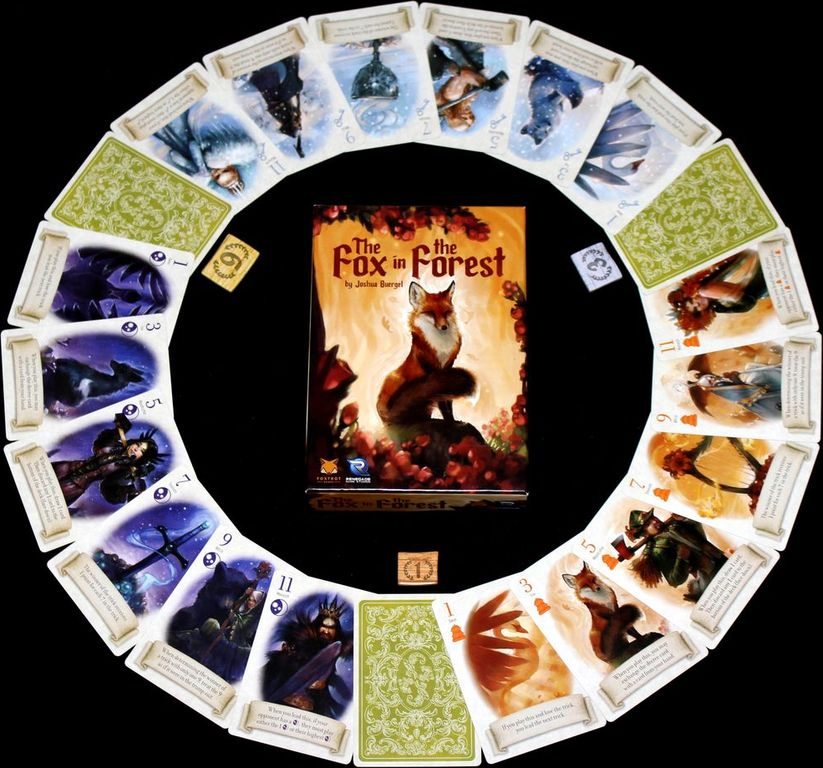 The Fox in the Forest cards