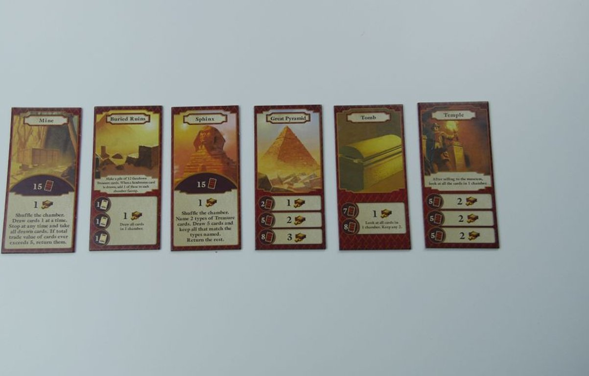 Archaeology: The New Expedition cards