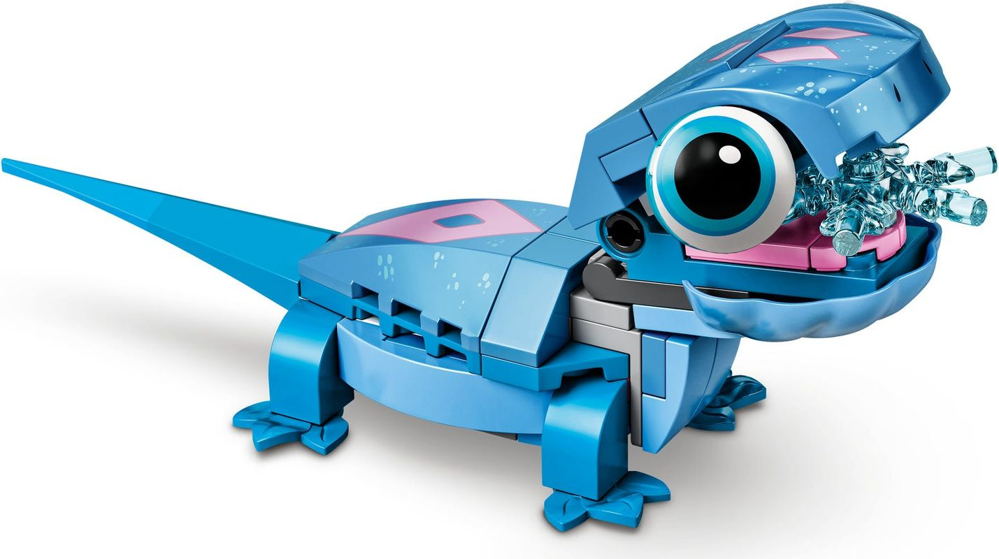 Bruni the Salamander Buildable Character components
