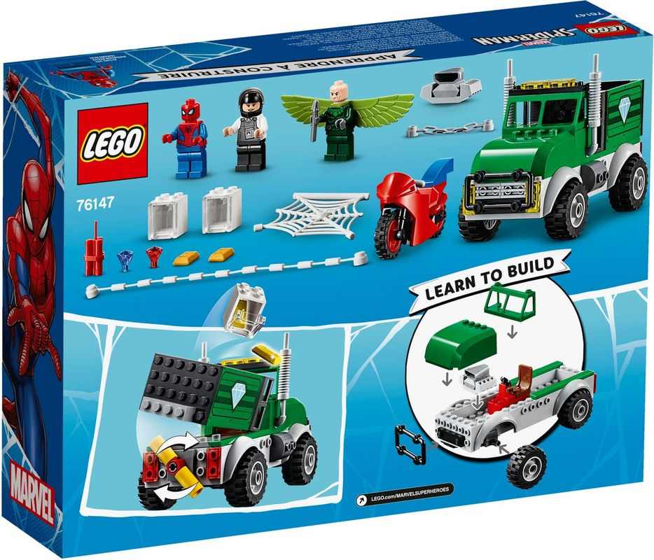 Vulture's Trucker Robbery back of the box