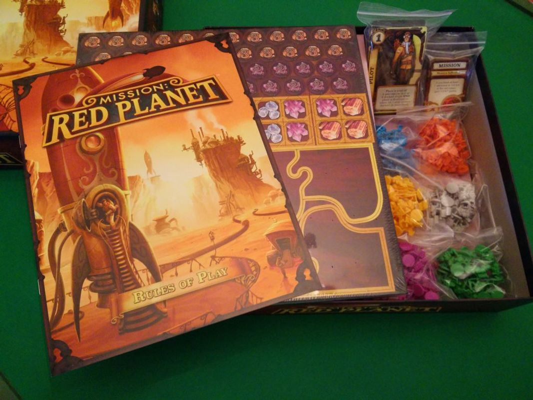 Mission: Red Planet components