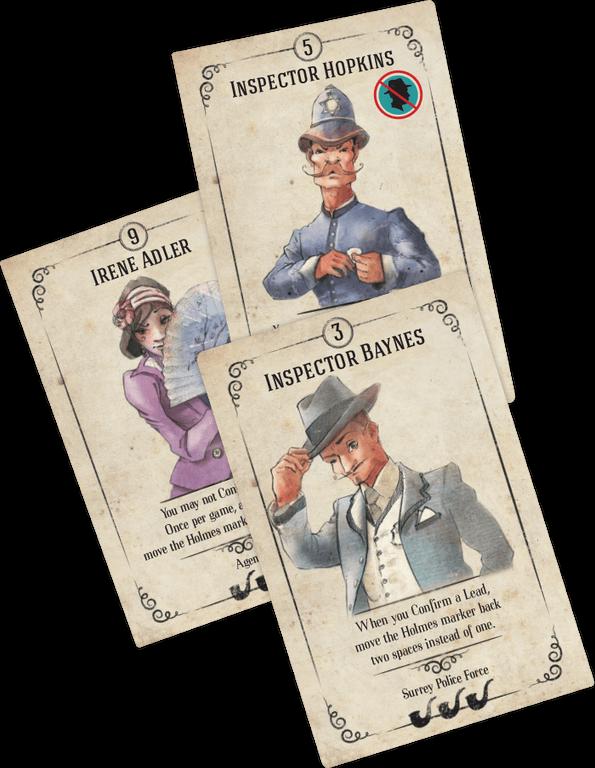 Beyond Baker Street cards