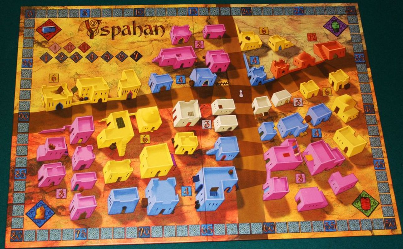 Yspahan components