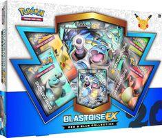 Pokémon 20th Anniversary Red & Blue Collection Blastoise-EX