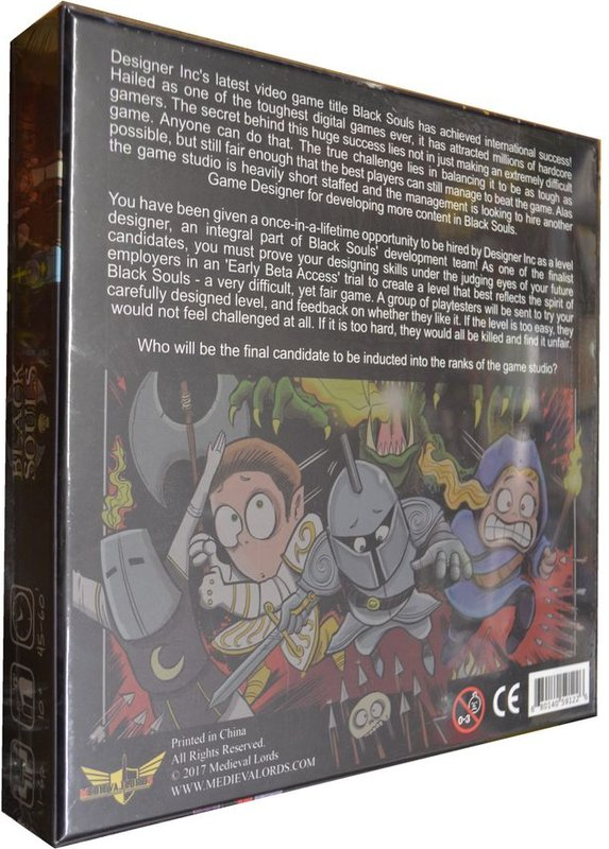 Black Souls rückseite der box