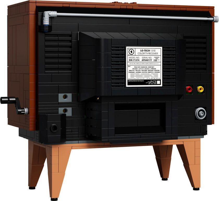 Nintendo Entertainment System™ back side