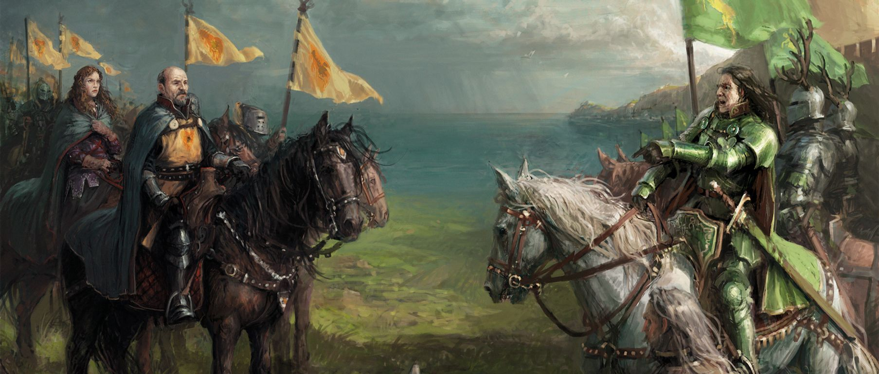 A Song of Ice & Fire: Tabletop Miniatures Game – Baratheon Starter Set